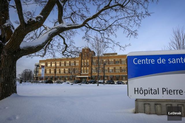 Le Centre hospitalier Pierre-Janet (CHPJ) a été victime... (Simon-Séguin Bertrand, Archives Le Droit)