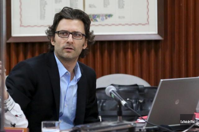 Éric Sévigny est le nouveau DG de Bromont.... (archives La Voix de L'Est)