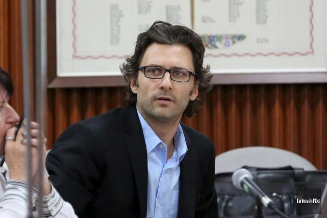 Éric Sévigny succédera à Jean Langevin, mort tragiquement... (archives La Voix de l'Est)