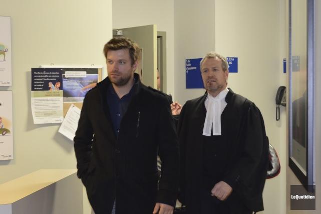 L'avocat de Réal Thivierge, Me Jean-Luc Maltais, croit... (Photo Le Quotidien, Louis Potvin)