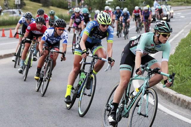 Pour son huitième anniversaire, en 2017, le Grand Prix Cycliste de Gatineau... (Etienne Ranger, Archives Le Droit)