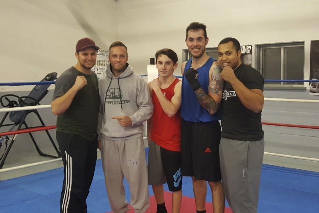 L'entraîneur du club de boxe Black Jack, Jacques-Élie Bien-Aimé, a amené cinq... (fournie)