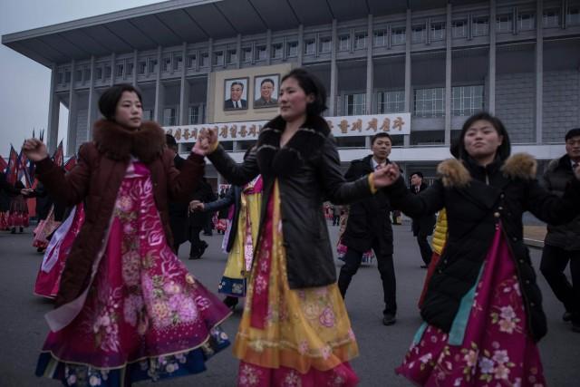 La Corée du Nord célèbre l'anniversaire de Kim... (AFP)