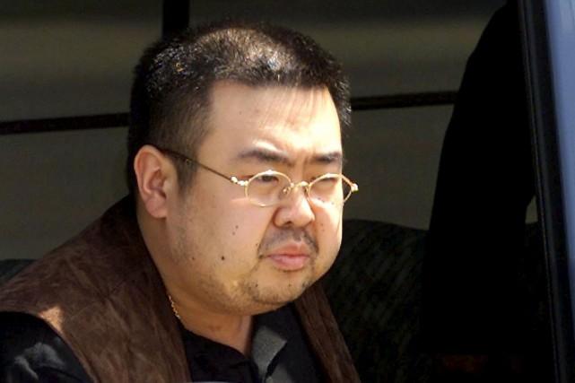 Kim Jong-Nam... (Photo Toshifumi Kitamura, archives Agence France-Presse)