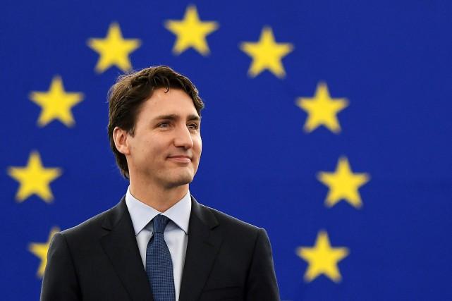 Le premier ministre canadien Justin Trudeau a précisé... (FREDERICK FLORIN, AFP)