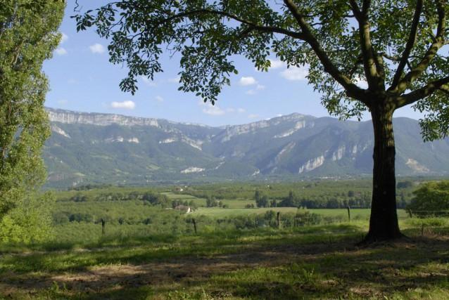 Entre Grenoble et Valence, dans la région du... (Photo fournie par Ch Huret)