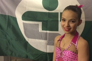 La patineuse artistique Mélaurie Boivin de Desbiens agira... (Photo courtoisie)