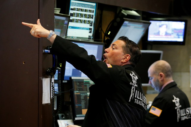 L'indice vedette de Wall Street Dow Jones Industrial... (REUTERS)