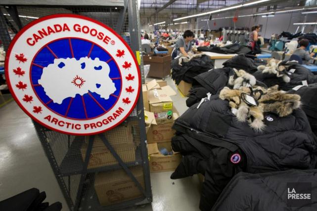 Le fabricant de vêtements d'hiver Canada Goose veut... (Photo Ivanoh Demers, Archives La Presse)