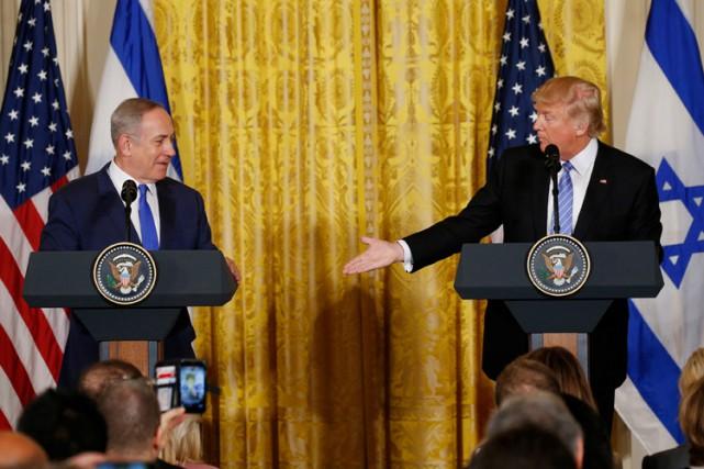 Donald Trump a redit sa volonté de présider... (PHOTO REUTERS)