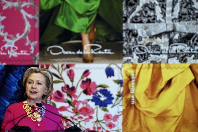 L'ancienne secrétaire d'Etat s'est félicité du choix du... (PHOTO AFP)