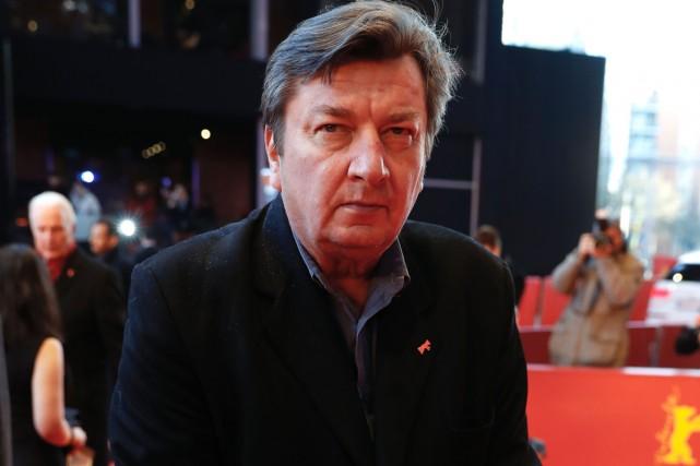 Aki Kaurismäki à la Berlinale plus tôt cette... (PHOTO AFP)