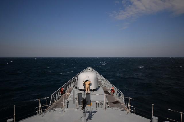 En Mer Noire, les rotations de navires seront... (PHOTO AFP)
