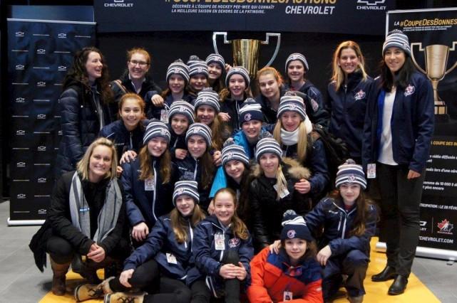 Équipe Québec féminin participe au Tournoi international de... (Fournie)