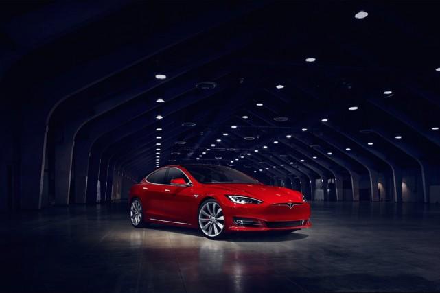 La Tesla Model S a obtenu la note... (PHOTO FOURNIE PAR LE CONSTRUCTEUR)