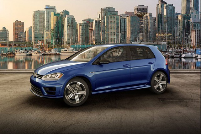 Une Golf R.... (Photo : Volkswagen)