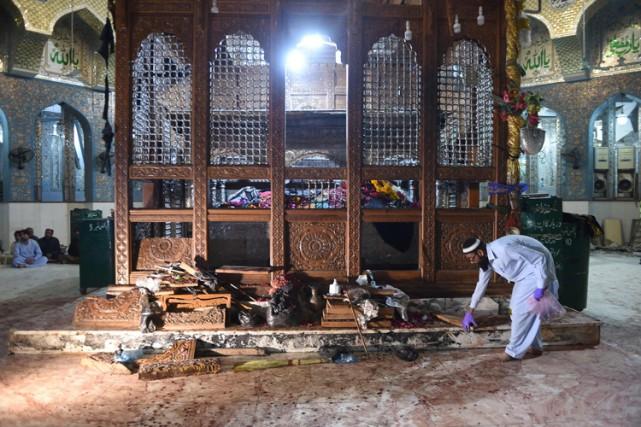 L'attaque a été commise par un kamikaze qui... (PHOTO AFP)
