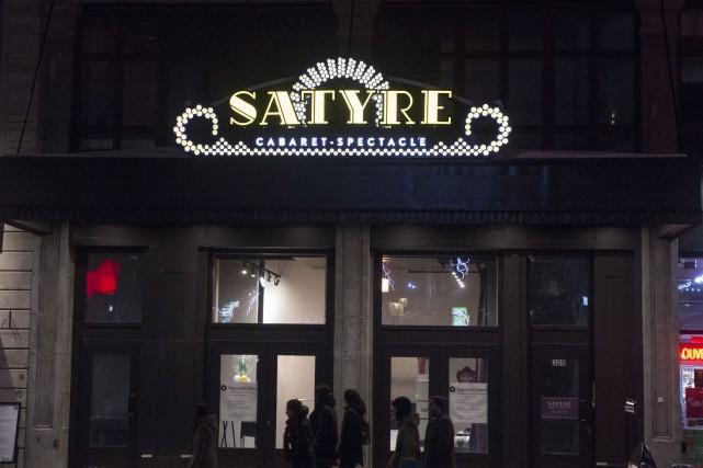 Le cabaret Le Satyre vient de fermer ses...