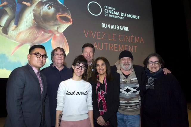 Le Festival Cinéma du monde de Sherbrooke a... (Spectre Média, Maxime Picard)