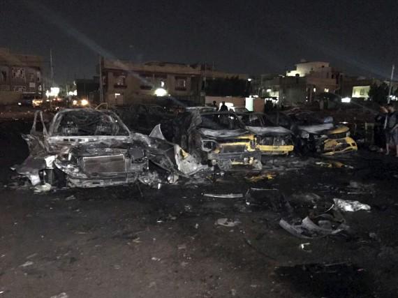 L'attentat de jeudi à Bagdad est le plus... (AP, Ali Abdul Hassan)