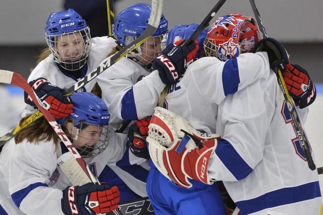 L'Équipe féminine du Québec a connu sa première... (Le Soleil, Patrice Laroche)