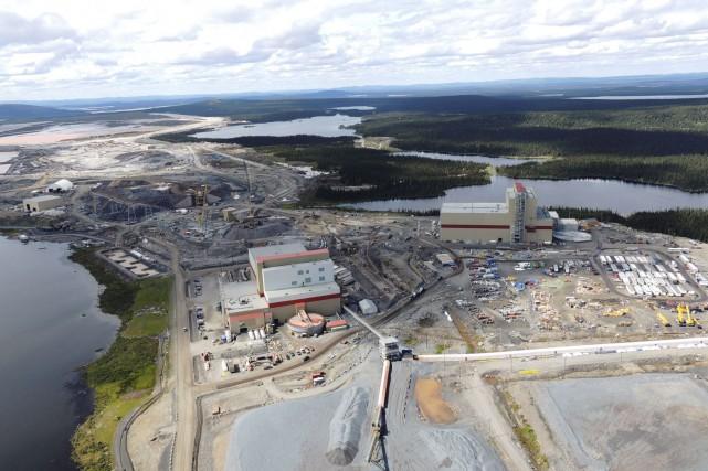 La mine du lac Bloom près de Fermont... (Fournie par Champion Iron Limited)