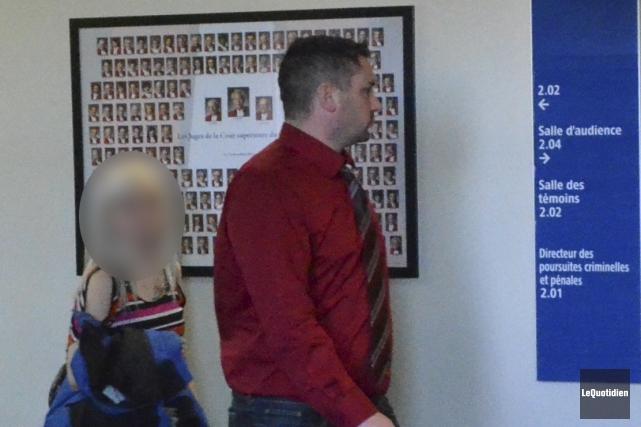 Dany Gravel a plaidé coupable à de nombreuses... (Photo Le Quotidien, Louis Potvin)