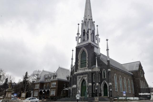 L'église Sacré-Coeur de Chicoutimi... (Archives Le Quotidien, Rocket Lavoie)