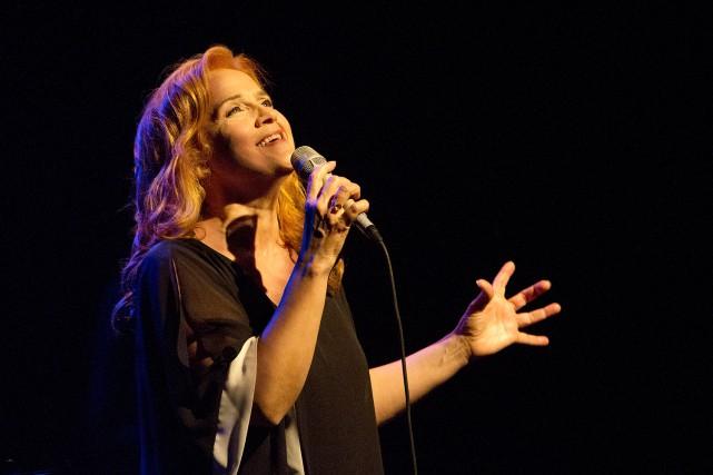 Marie Denise Pelletier célèbre 30 ans de carrière... (Photo fournie)