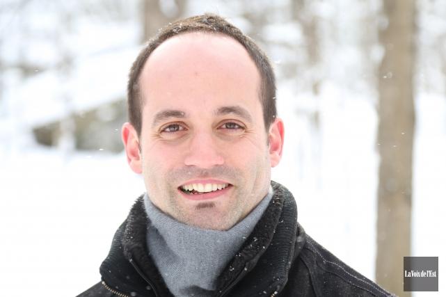 François Méthot-Borduas, 34ans, est entré en fonction la... (Janick Marois, La Voix de l'Est)