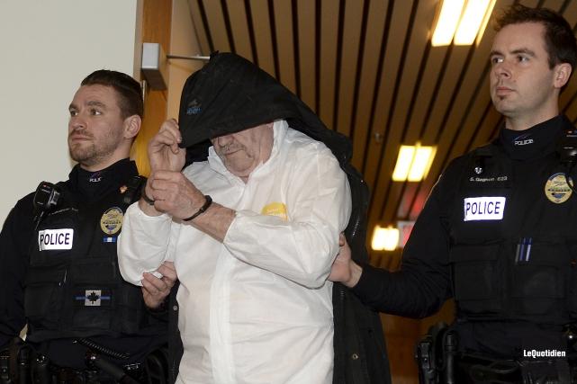 Jean Leclerc, 65 ans, est accusé de tentative... (Photo Le Quotidien, Jeannot Lévesque)