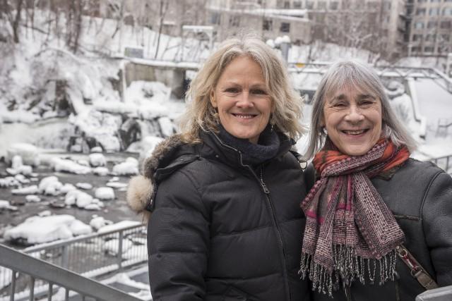 Lysanne Gallant et Anne Dansereau... (Spectre Média, Frédéric Côté)