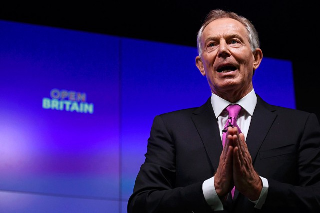 L'ancien premier ministre Tony Blair a jugé que les... (PHOTO TOBY MELVILLE, REUTERS)