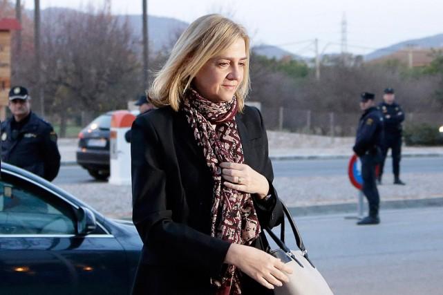 La CristinaCristina, qui est la soeur du roi... (Photo Emilio Morenatti, archives AP)