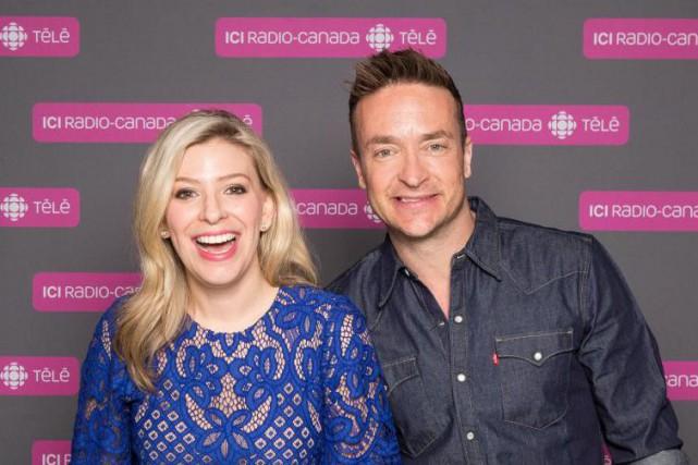 Anne-Marie Withenshaw et Mario Tessier animeront une nouvelle... (photo fournie par ICI Radio-Canada)