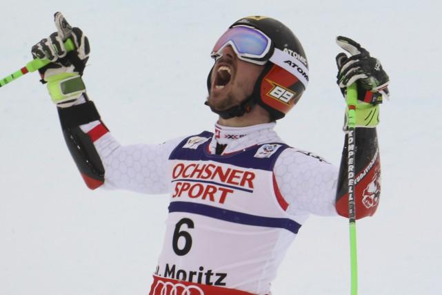 L'Autrichien Marcel Hirscher a confirmé son statut de... (Photo Stefano Rellandini, Reuters)
