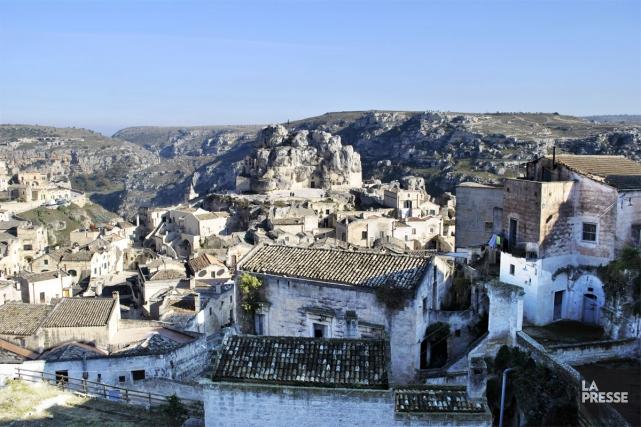 La ville de Matera, en Italie, est connue... (PHOTO LAILA MAALOUF, LA PRESSE)