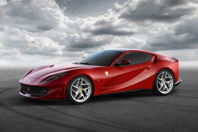La Ferrari 812 Superfast... (PHOTO FOURNIE PAR LE CONSTRUCTEUR)