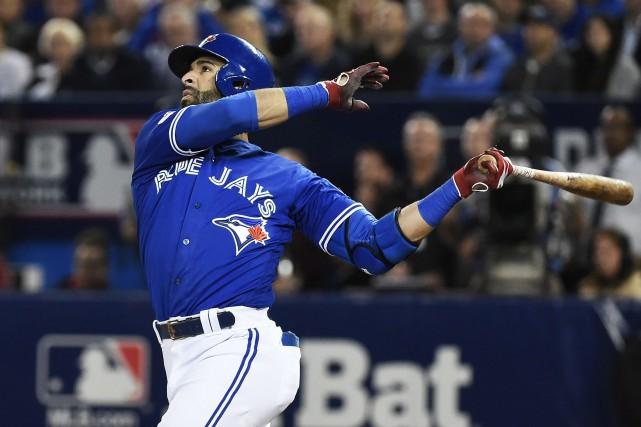 Jose Bautista a été ralenti par les blessures... (Archives La Presse canadienne)