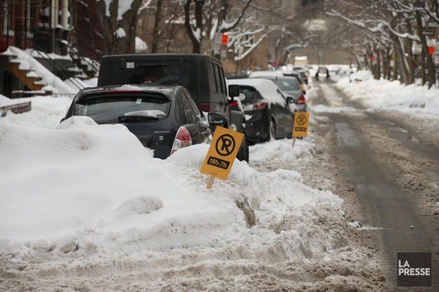 L'Association estime que la nouvelle politique neige adoptée... (PHOTO Martin Chamberland, LA PRESSE)