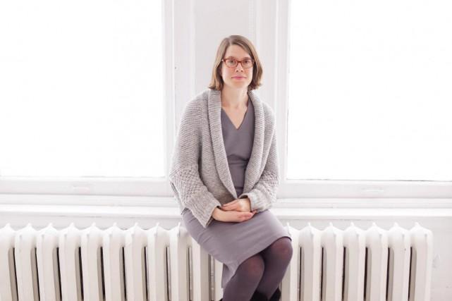 L'artiste visuelle Kim Waldron, prix Pierre-Ayot 2013, expose... (Photo Martin Chamberland, La Presse)