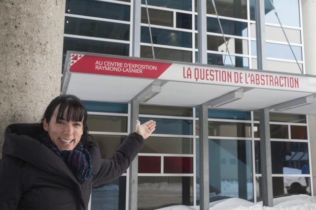 La directrice du Centre d'exposition Raymond-Lasnier de Trois-Rivières,... (Stéphane Lessard)