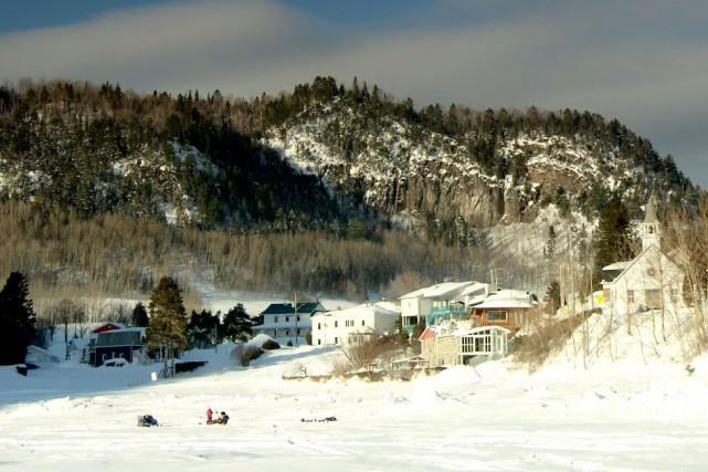 Le village de Sainte-Rose-du-Nord... (Photo courtoisie Télé-Québec Saguenay-Lac-Saint-Jean)