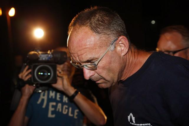 Douglas Garland a été reconnu coupable du triple... (Photo Jeff McIntosh, archives La Presse canadienne)