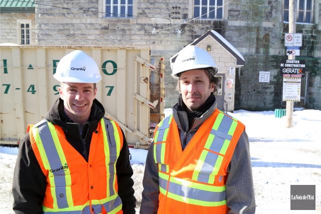 Le chantier de l'église Notre-Dame a débuté, affirment... (Janick Marois, La Voix de l'Est)