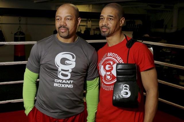 Les entraîneurs Otis et Howard Grant sont différents... (Le Soleil, Pascal Ratthé)