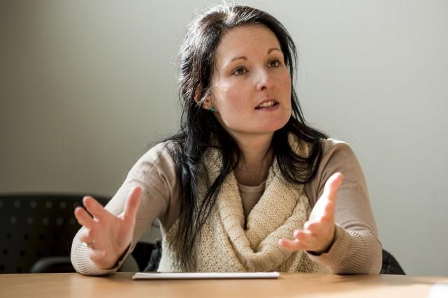 Catherine Forget, coordonnatrice des rendez-vous et des mécanismes... (Spectre Média, Jessica Garneau)