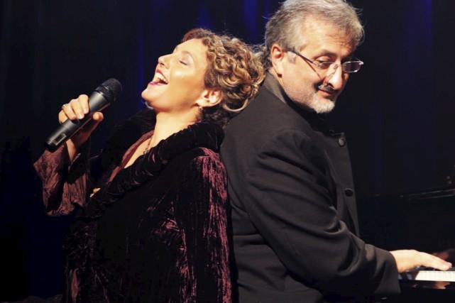Isabelle Metwalli et Enzo de Rosa.... (fournie)