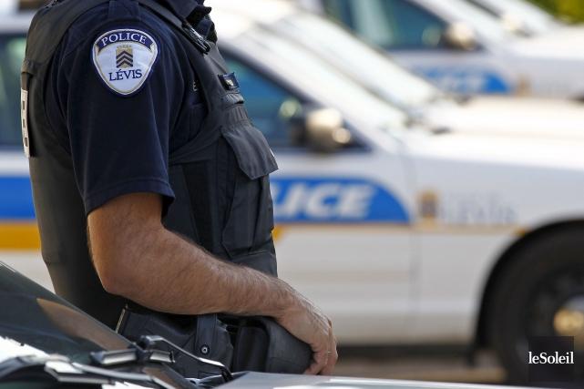 La police de Lévis recherche les témoins d'un... (Photothèque Le Soleil, Yan Doublet)