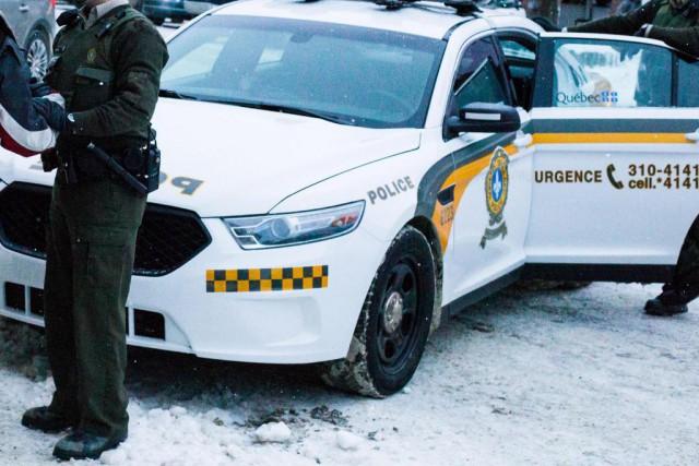 Le nombre d'agents de la Sûreté du Québec... (PHOTO MARTIN TREMBLAY, Archives LA PRESSE)